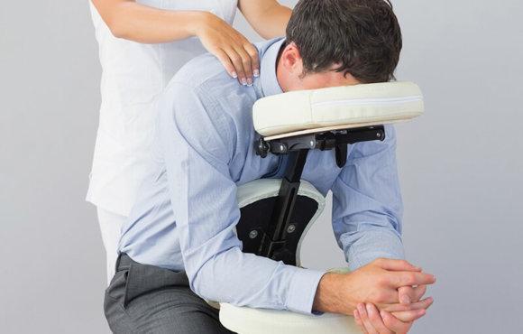 Chair Massage – Massage auf einem speziellen Massage-Stuhl